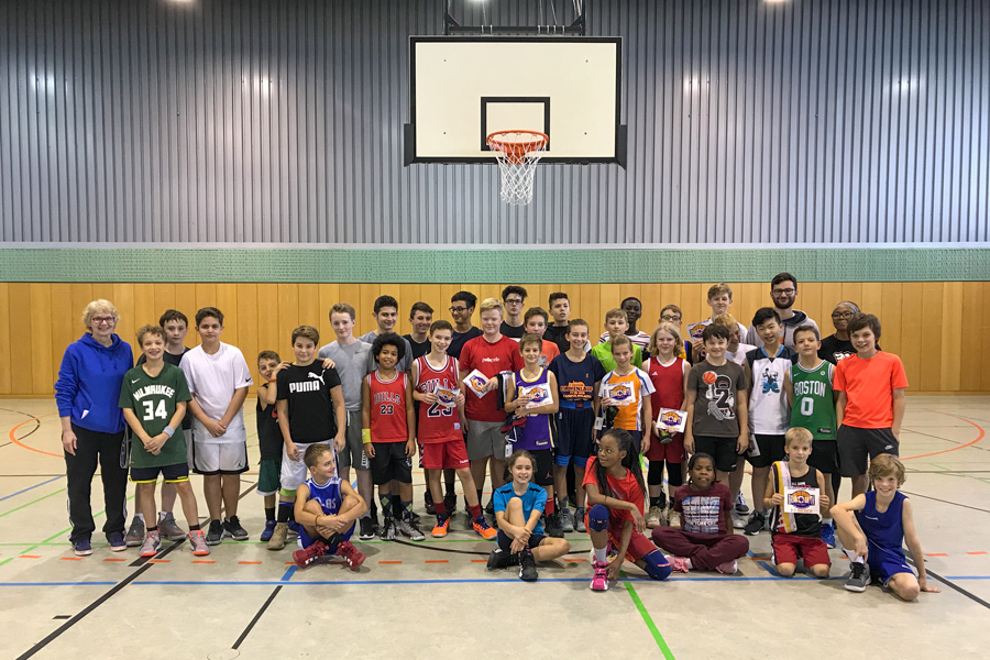 Basketballcamp Herbstferien
